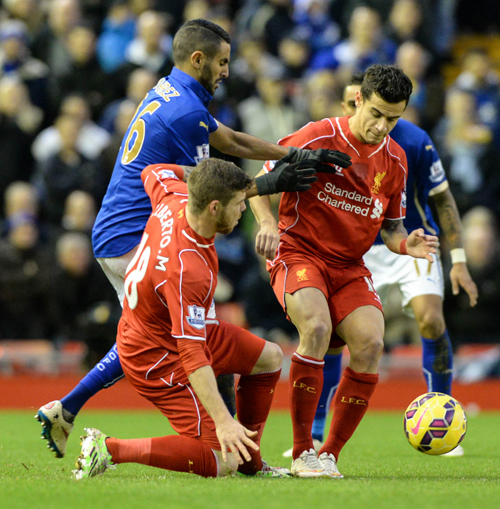 Liverpool v Leicester City, Barclays Premiership, 1 January 2015