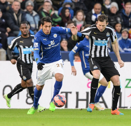 Leicester City v Newcastle Utd, FA Cup, 3 January 2015